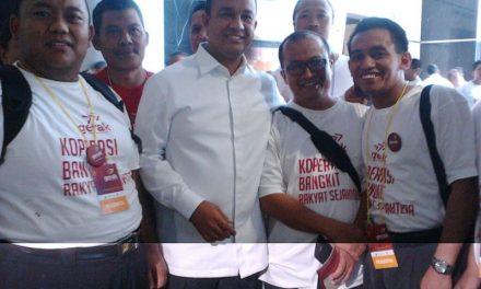 """Launching Gerakan """"Bangga Koperasi"""" PBMTI di Cibubur Jakarta"""