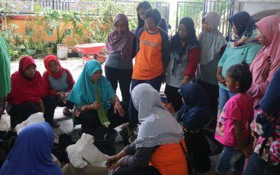 Pelatihan Budidaya Aloe vera bersama Ibu Marni